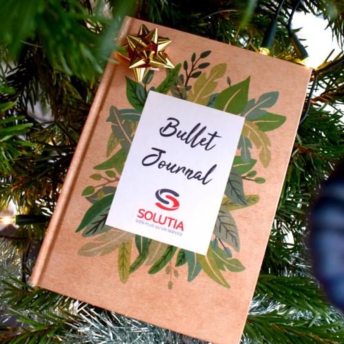 bullet journal noel cadeau